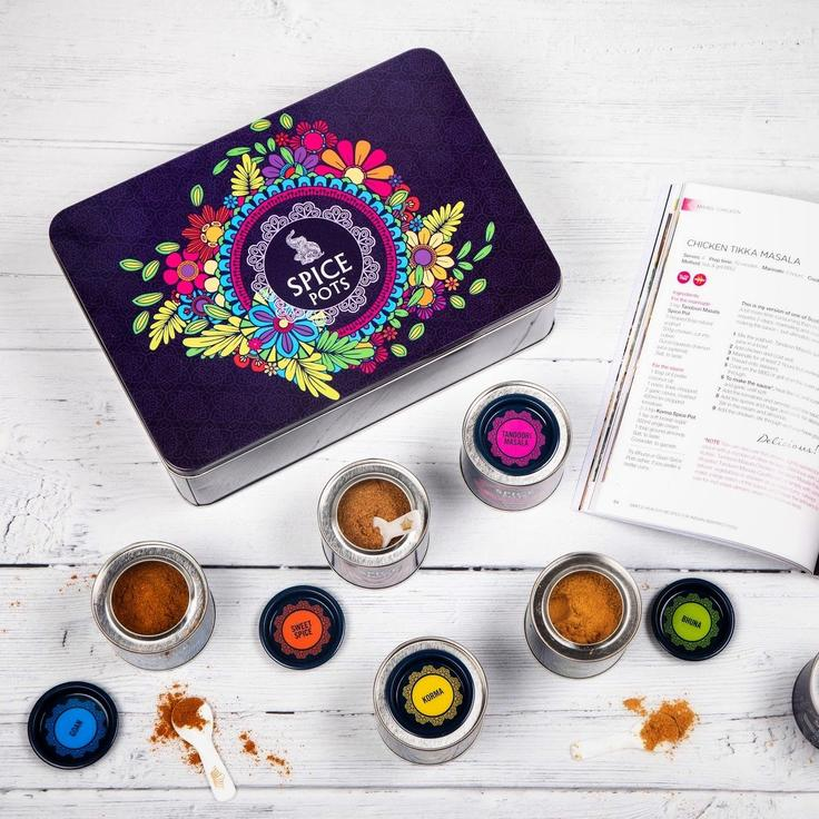 Giveaway: Mothers Day Spice Pots Tin