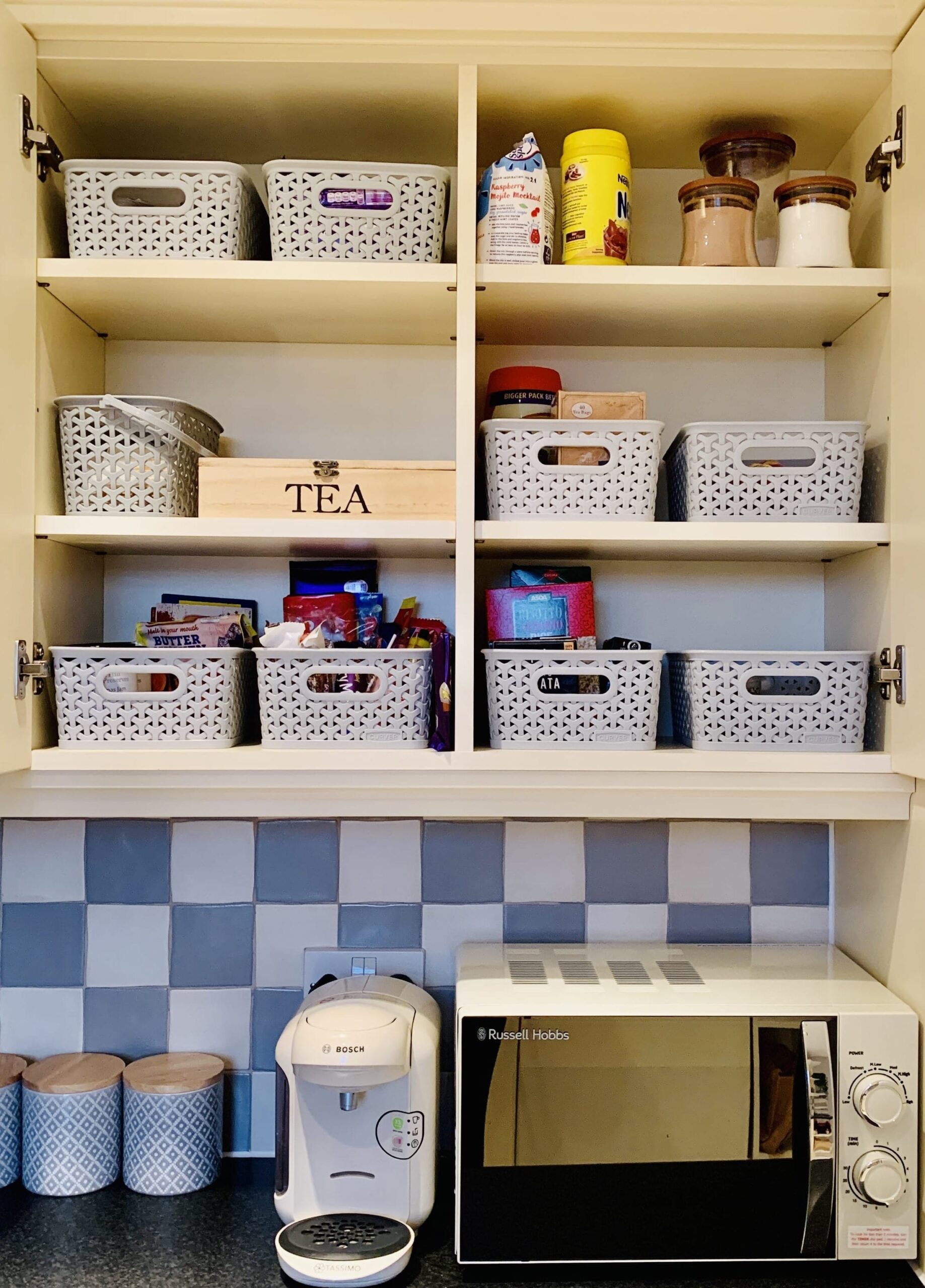 Organise Your Home - Kitchen Baskets