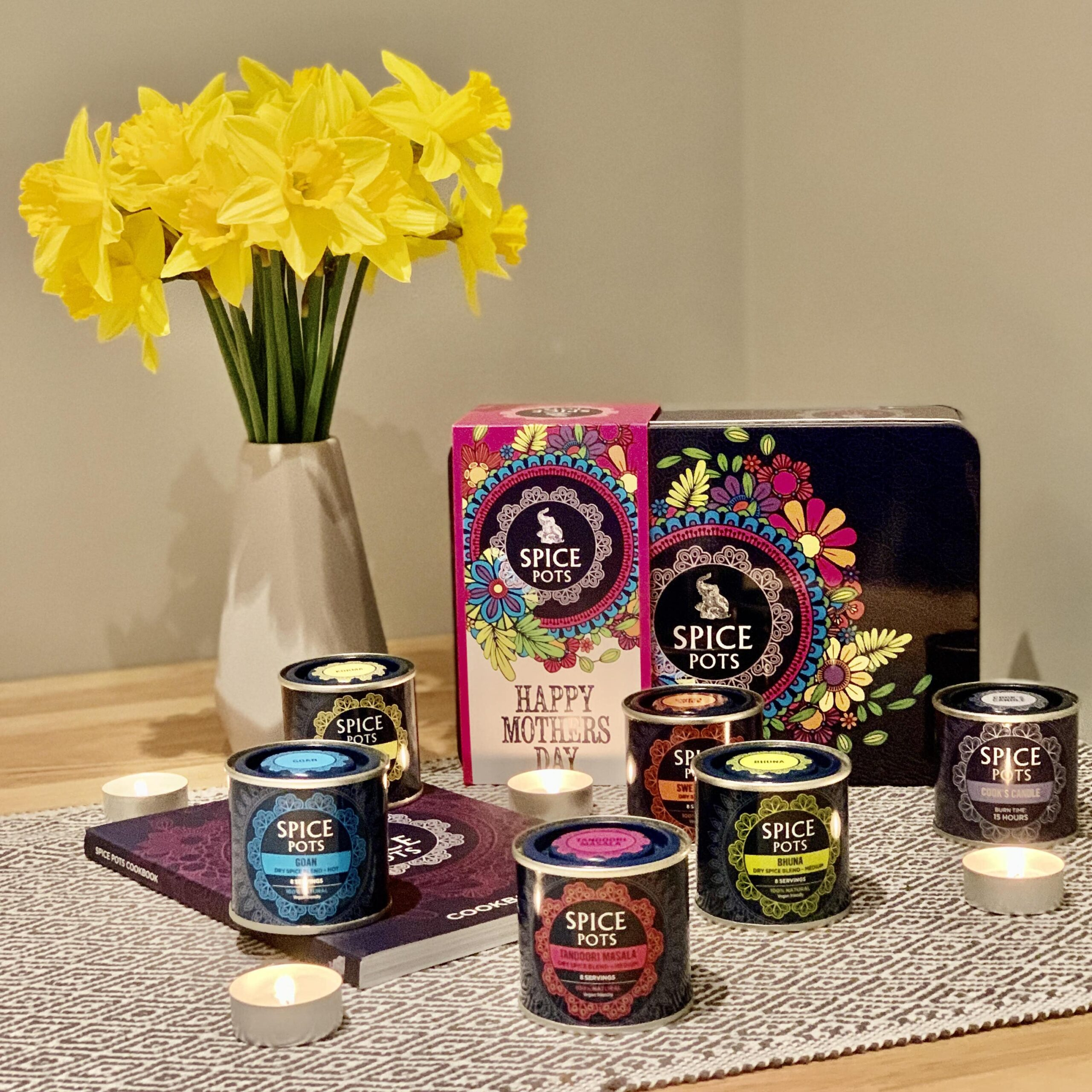 Spice pots - Mothers day
