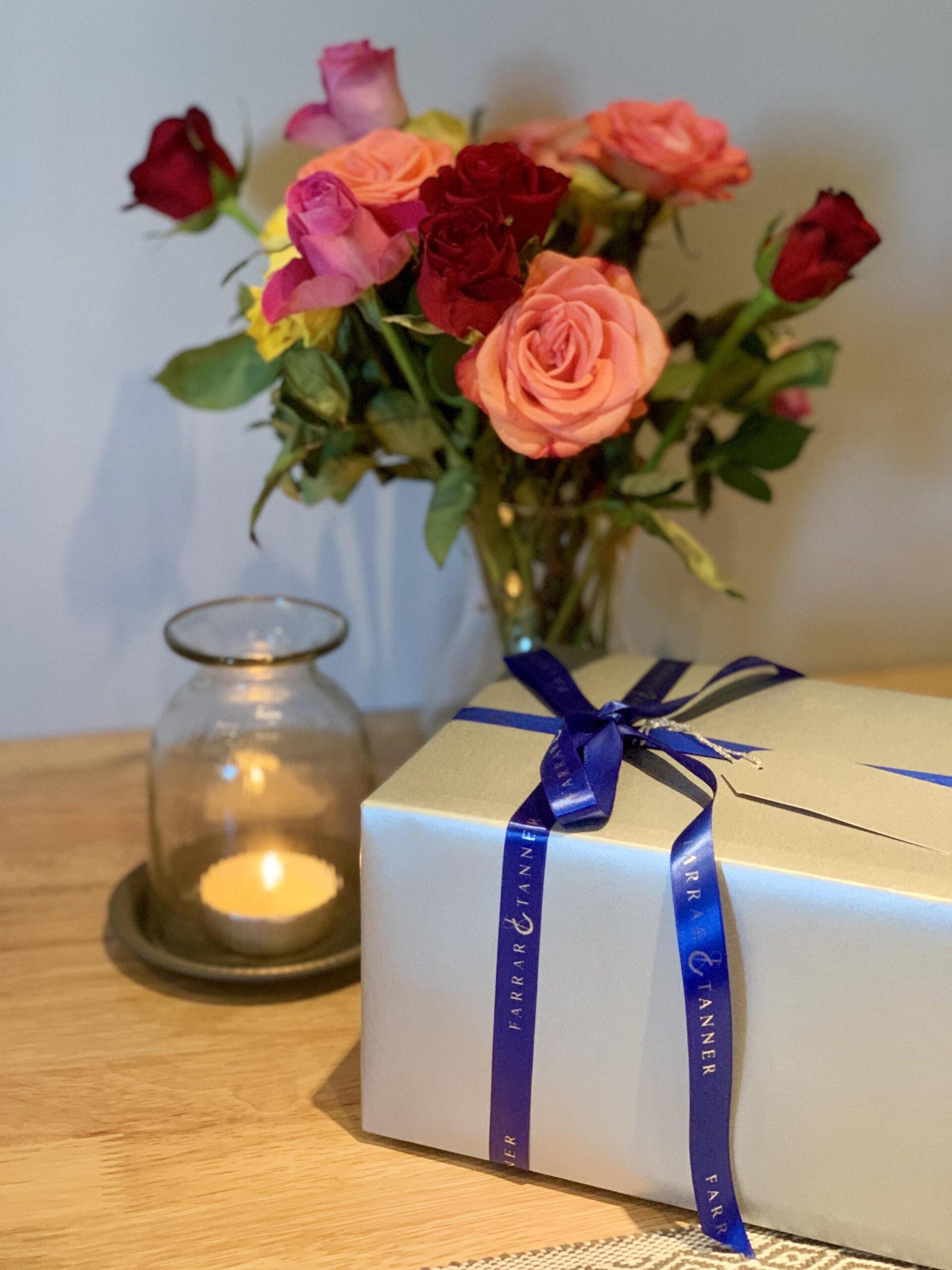 Farrar and Tanner gift wrap